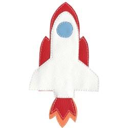 Pískacie tričko pre deti s raketoplánom