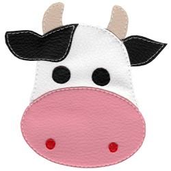 Pískacie tričko s kravou