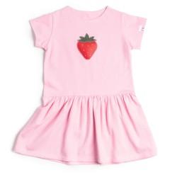 Pískacie sukňové šaty na leto