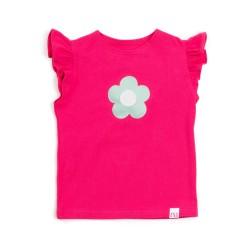 Detské pískacie tričko s volánikmi