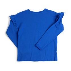 Women's sweatshirt with ruffles