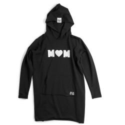 Extended women's hoodie