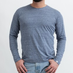 Men's squeaky t-shirt with long sleeves