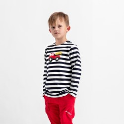 Boy's squeaky t-shirt with long sleeves