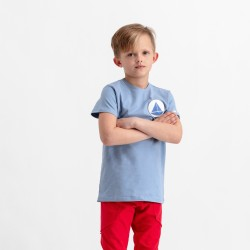 Pískacie tričko s krátkym rukávom chlapčenské