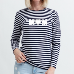 Women's t-shirt with long sleeves