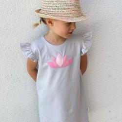 Dievčenské volánikové šaty